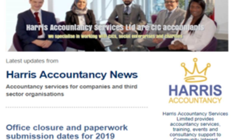 Harris AccountancyLtd Newsletter